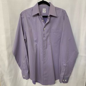 Pronto Uomo Lavender Mens Dress Shirt 15.5. 34/35